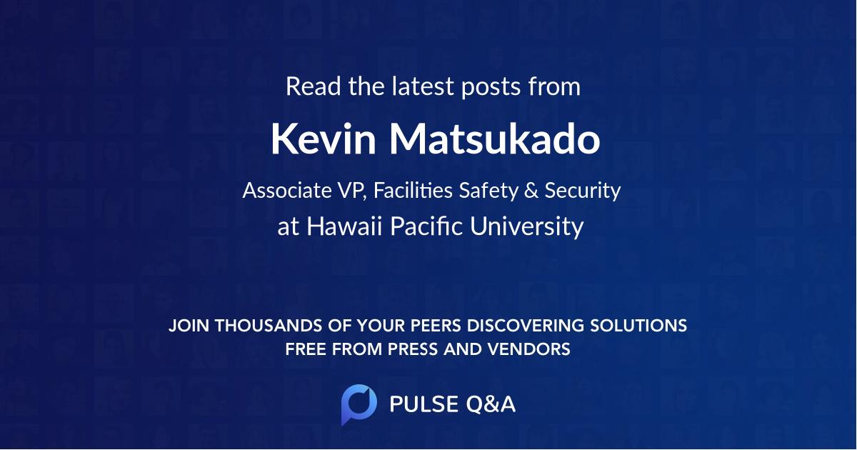 Kevin Matsukado