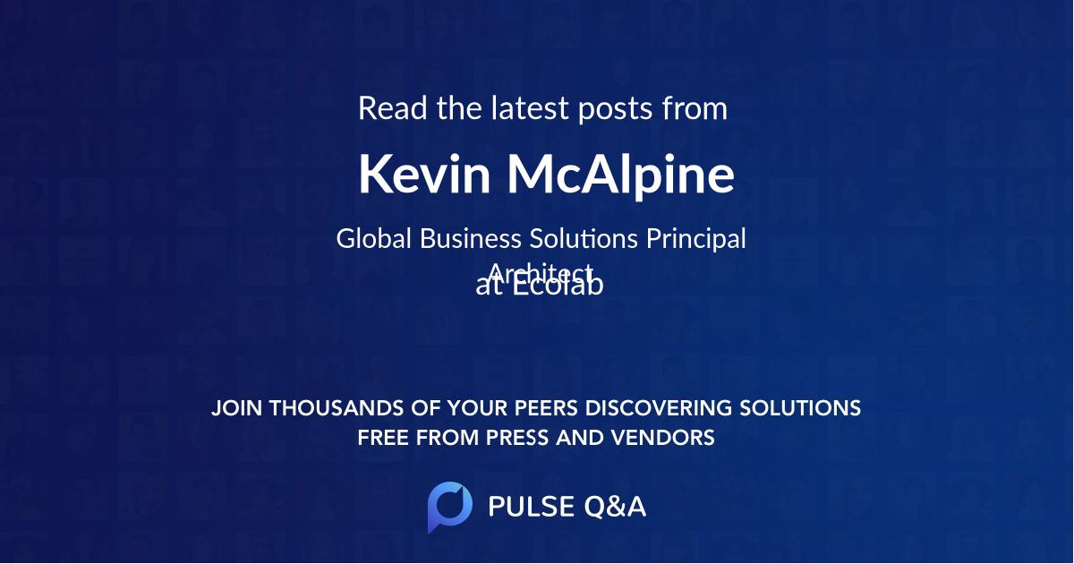 Kevin McAlpine