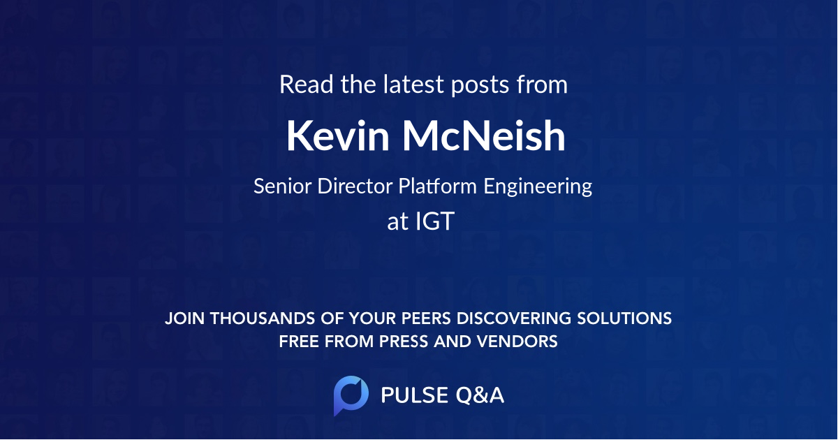 Kevin McNeish
