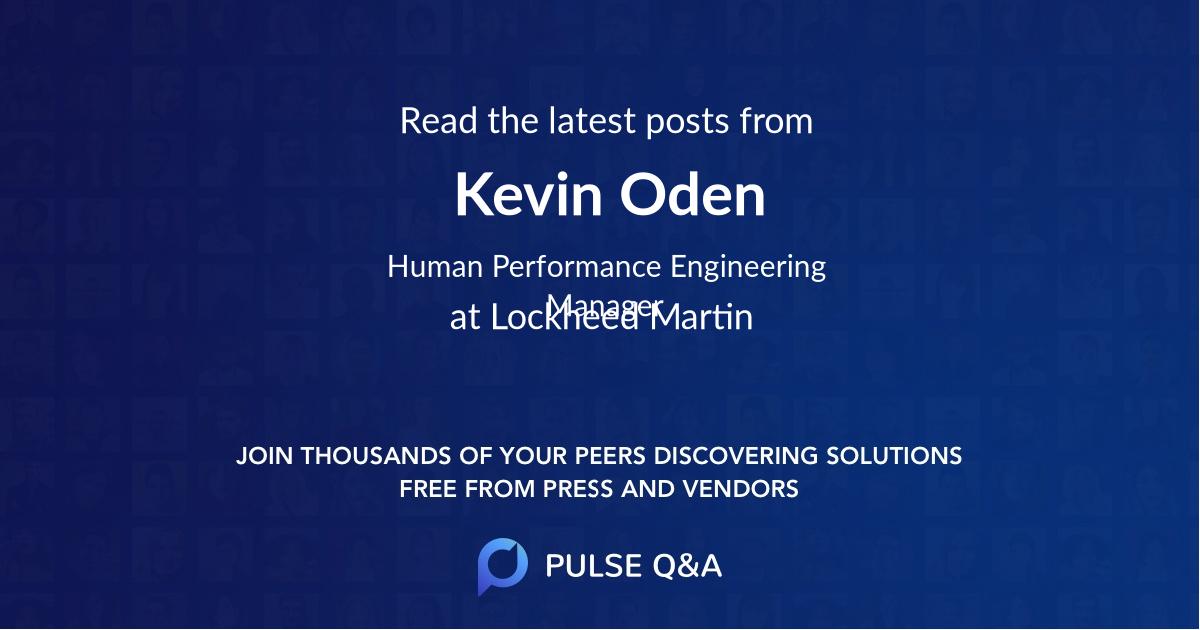 Kevin Oden
