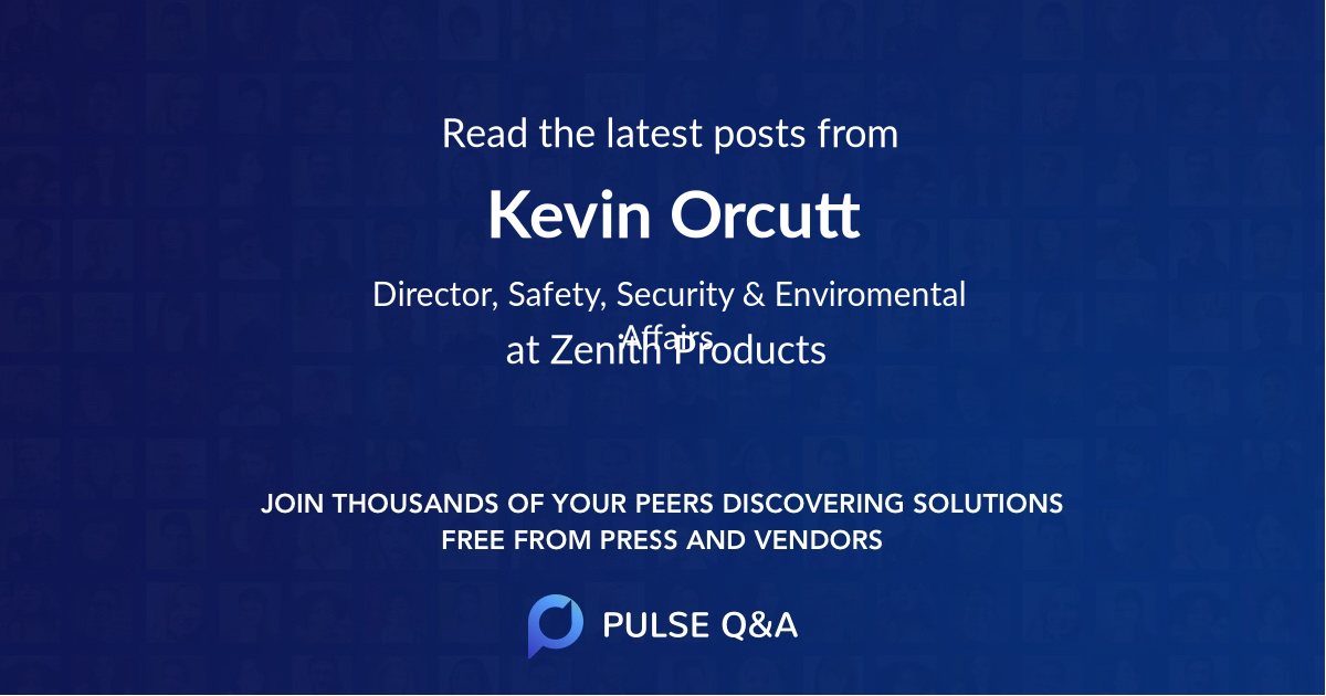 Kevin Orcutt