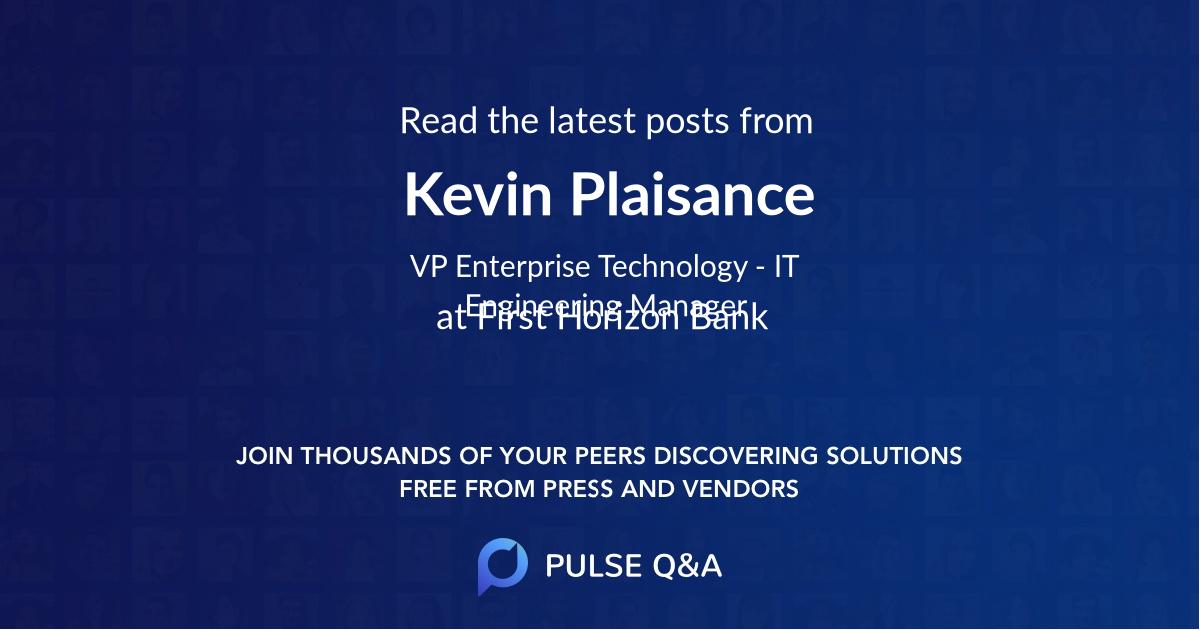 Kevin Plaisance