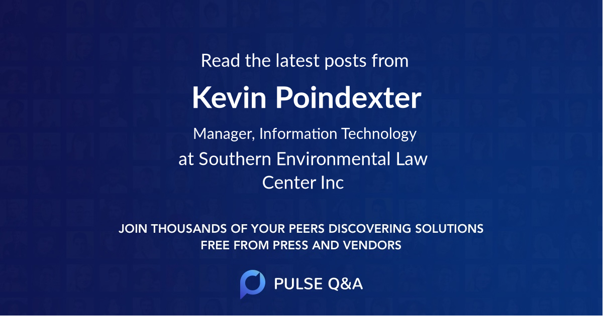 Kevin Poindexter