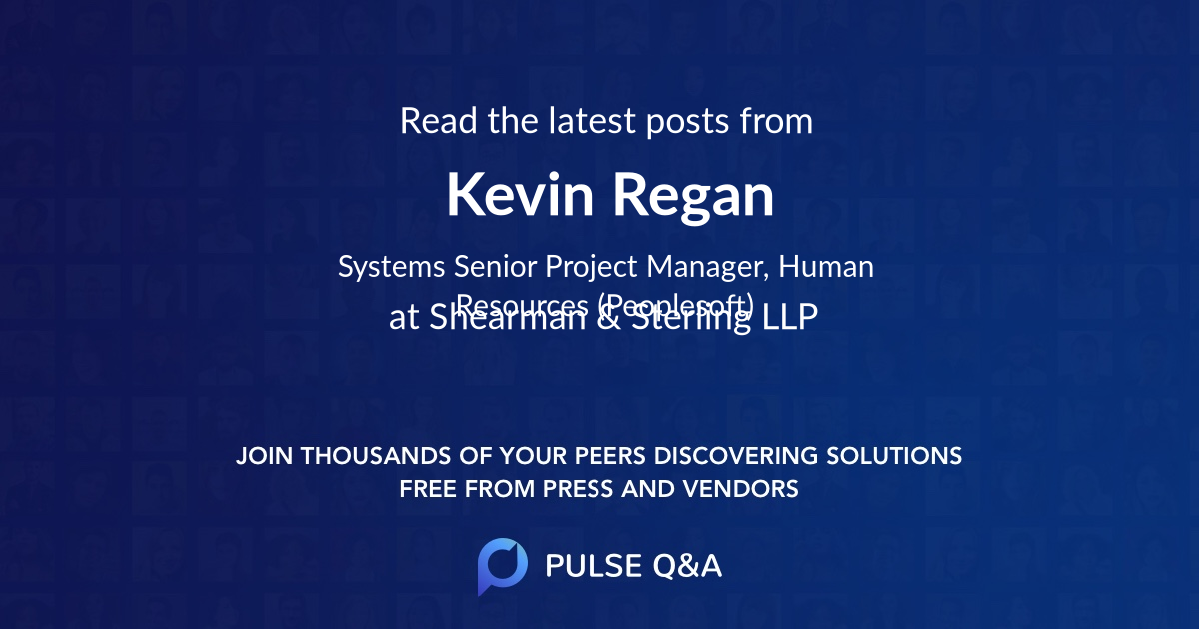Kevin Regan