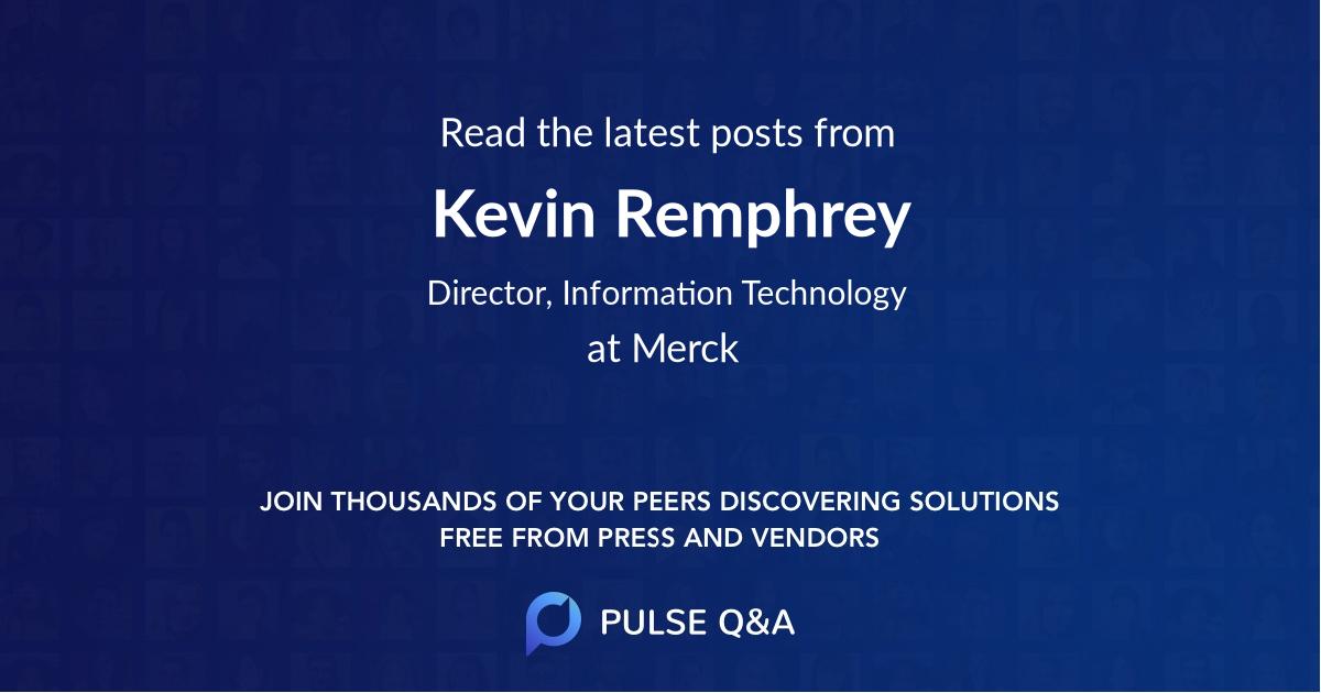 Kevin Remphrey