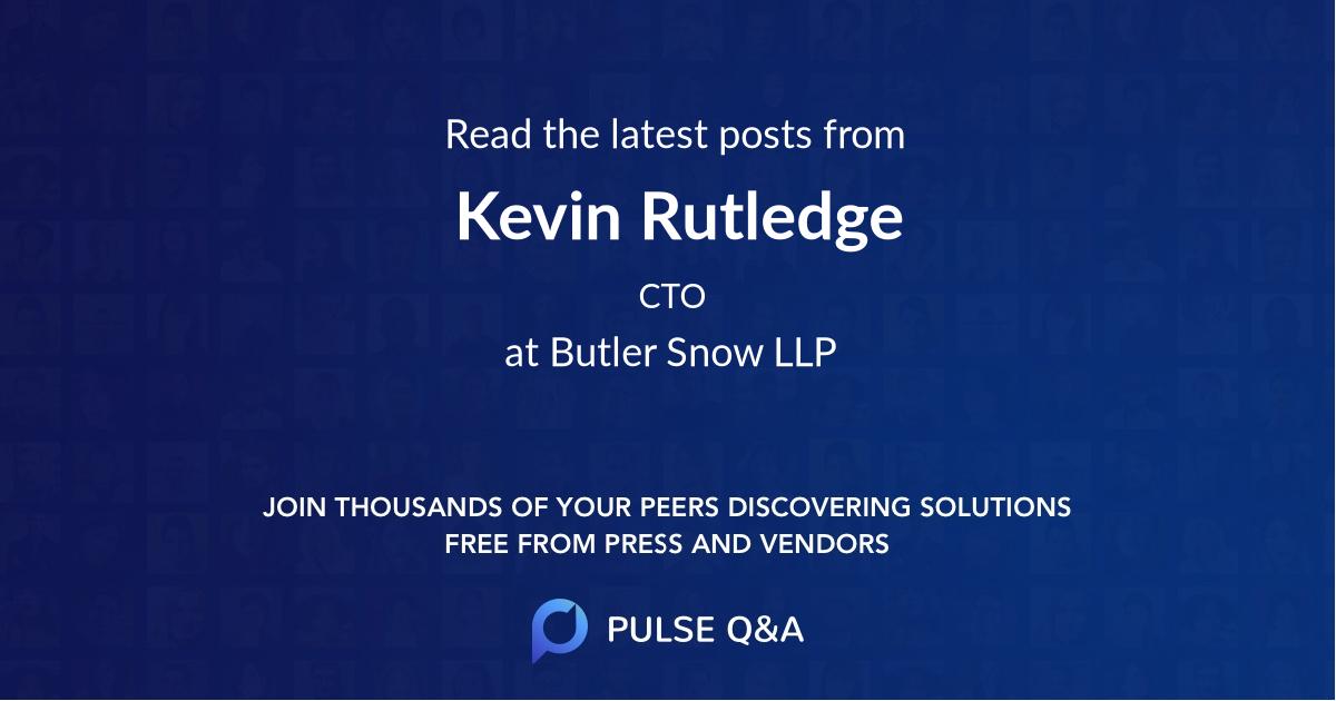 Kevin Rutledge