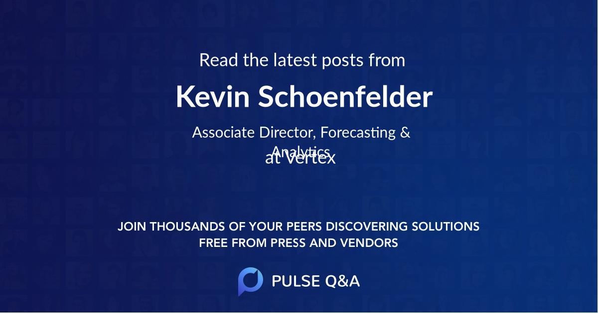 Kevin Schoenfelder
