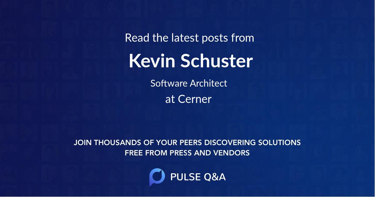 Kevin Schuster