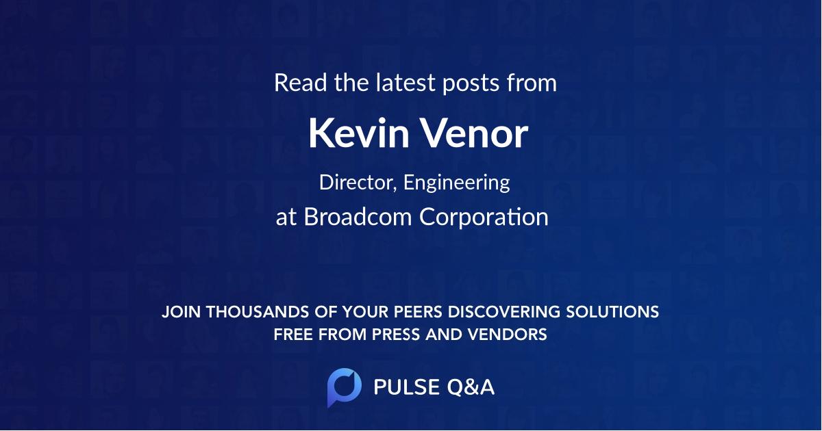 Kevin Venor