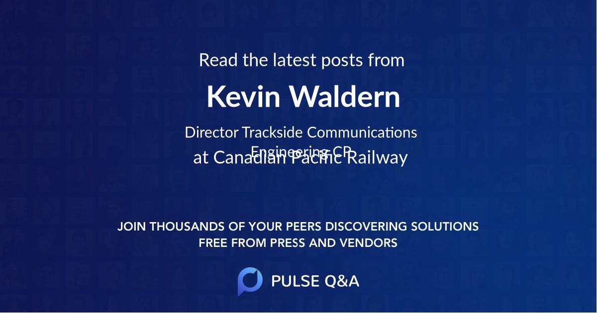 Kevin Waldern
