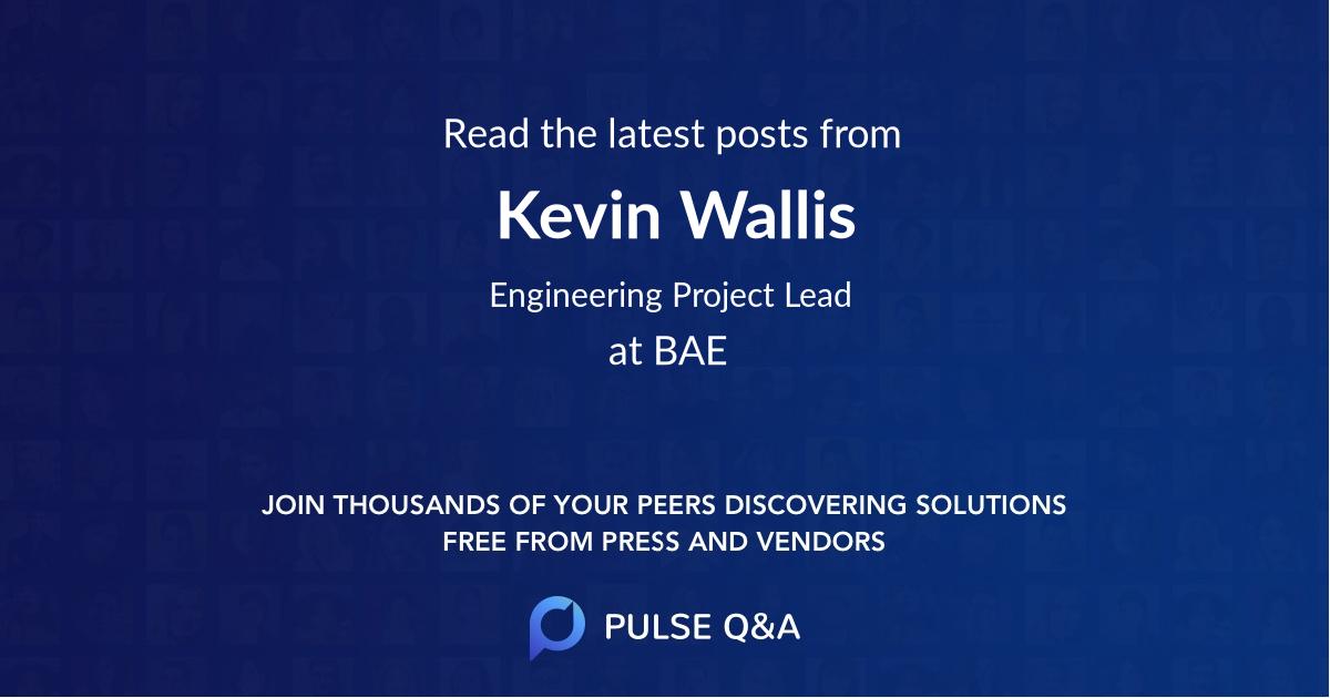 Kevin Wallis