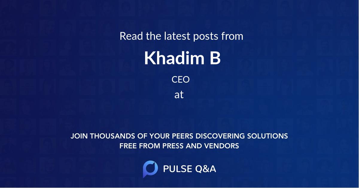 Khadim B