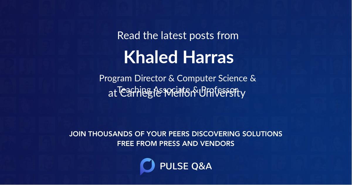 Khaled Harras