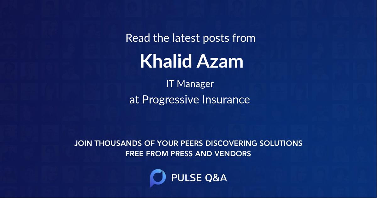 Khalid Azam