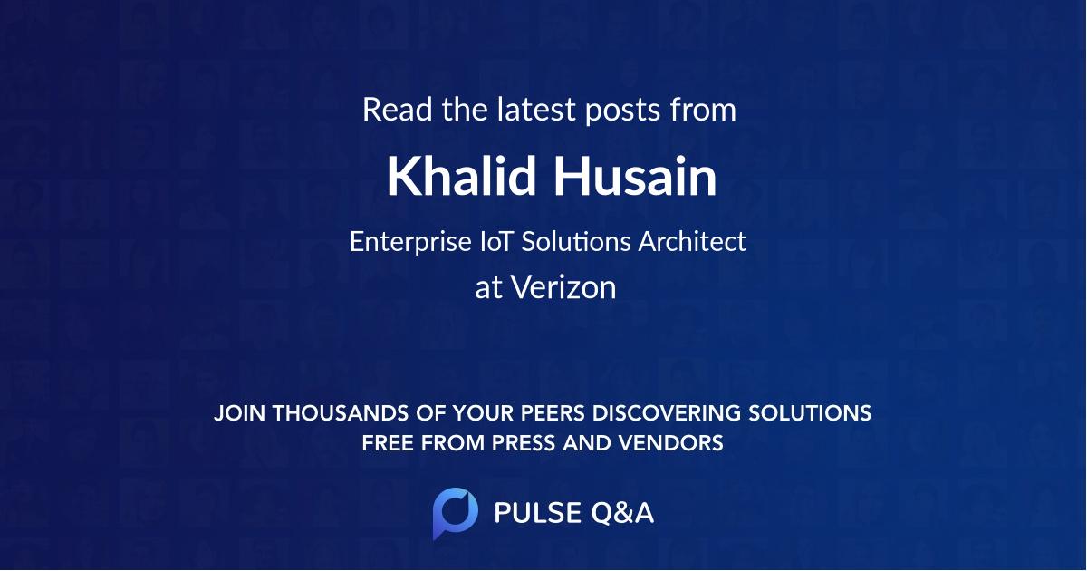Khalid Husain