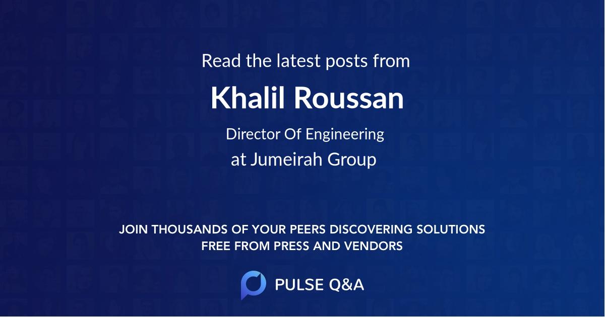 Khalil Roussan