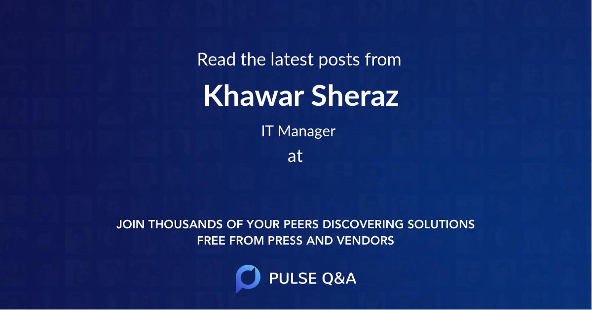 Khawar Sheraz