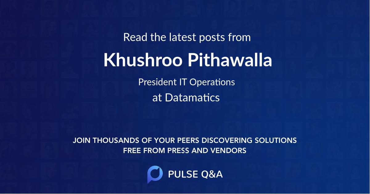 Khushroo Pithawalla