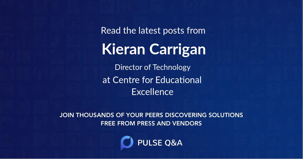 Kieran Carrigan