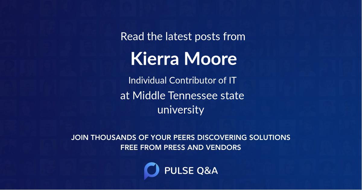 Kierra Moore