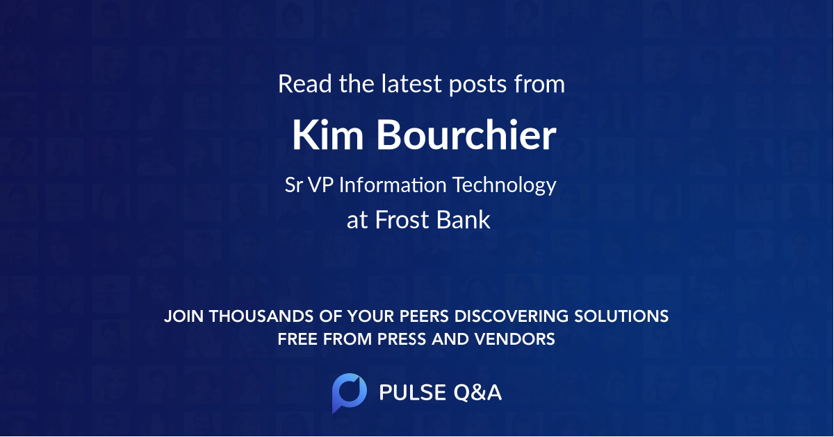 Kim Bourchier