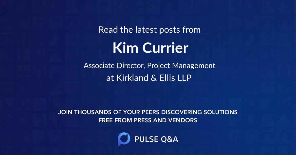 Kim Currier