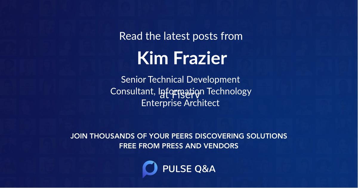 Kim Frazier
