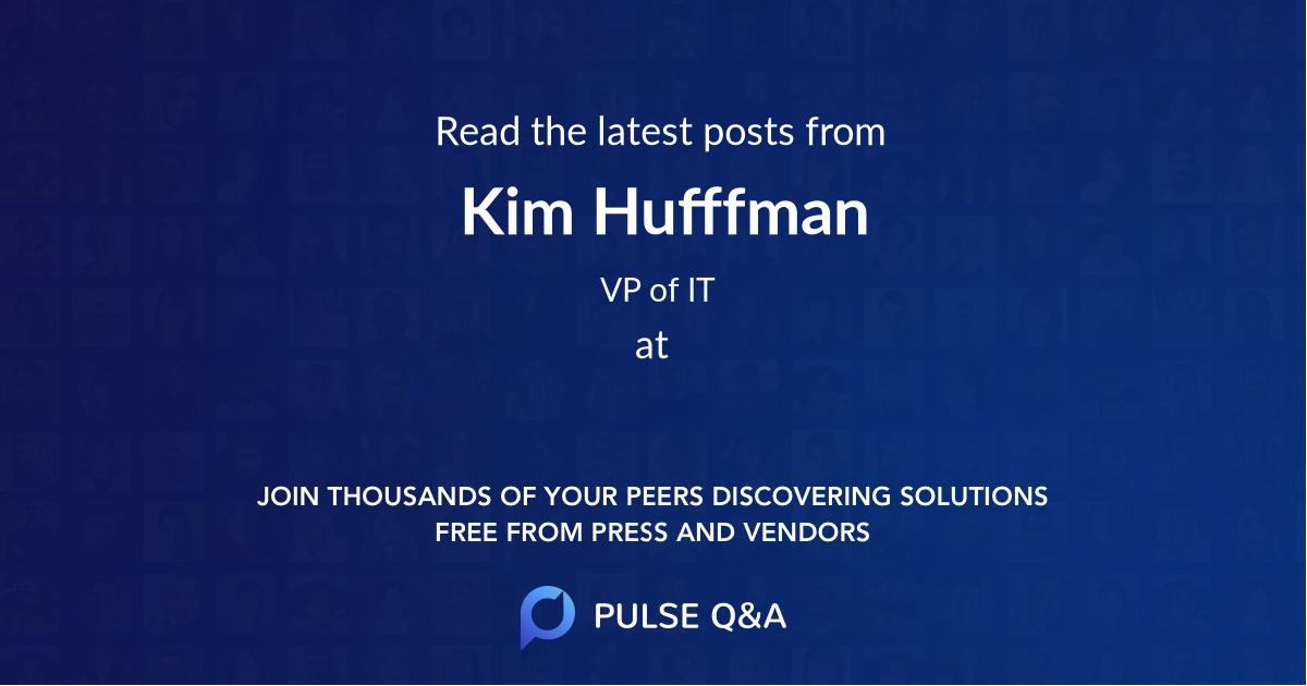 Kim Hufffman