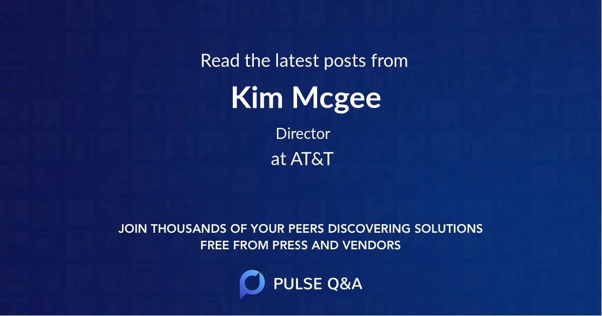 Kim Mcgee