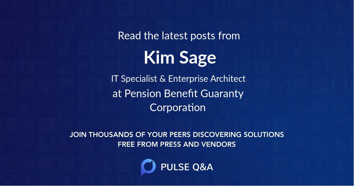 Kim Sage