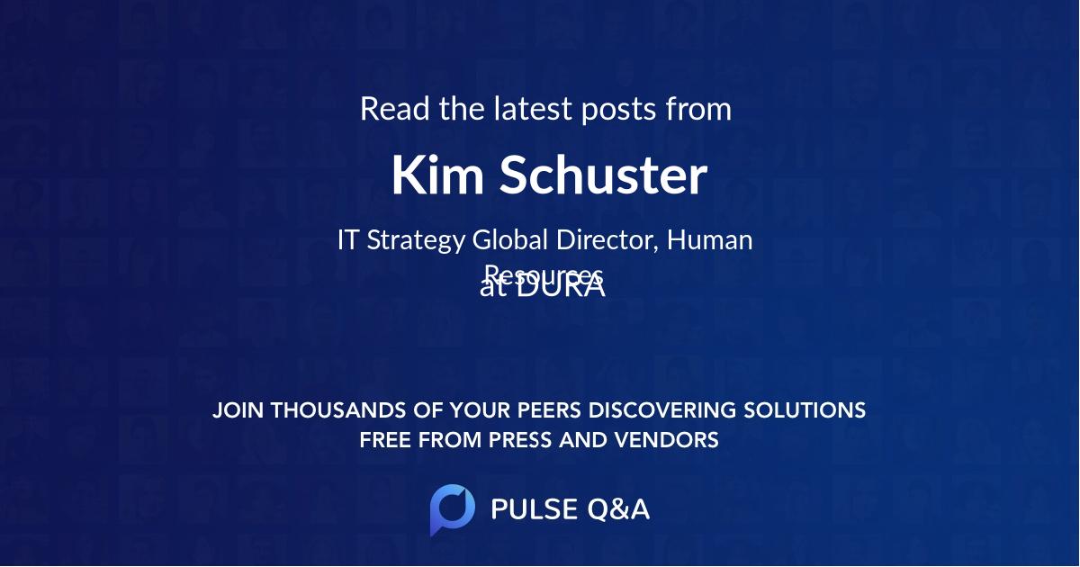 Kim Schuster