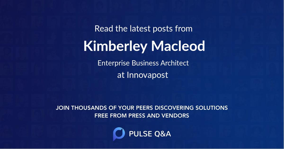 Kimberley Macleod