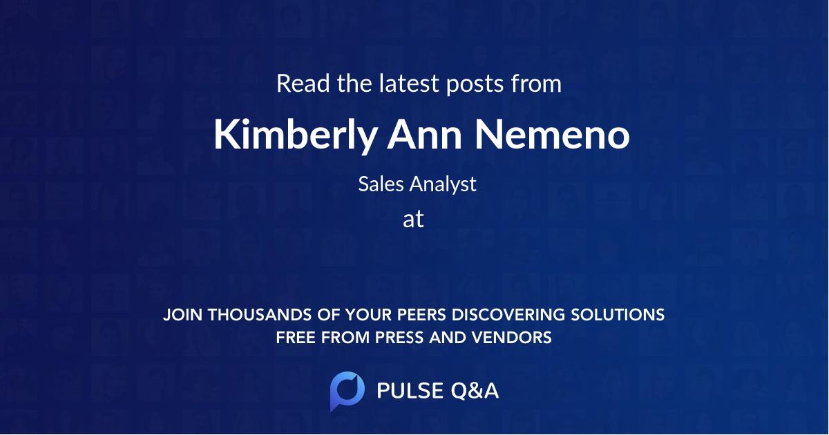 Kimberly Ann Nemeno