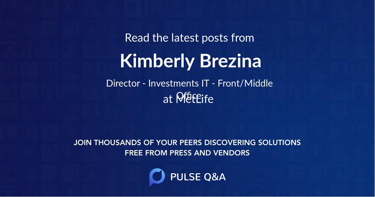 Kimberly Brezina