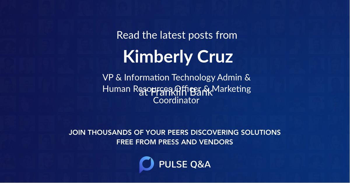 Kimberly Cruz