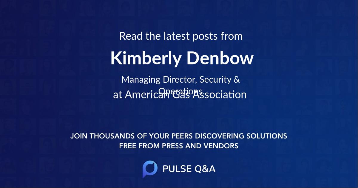 Kimberly Denbow