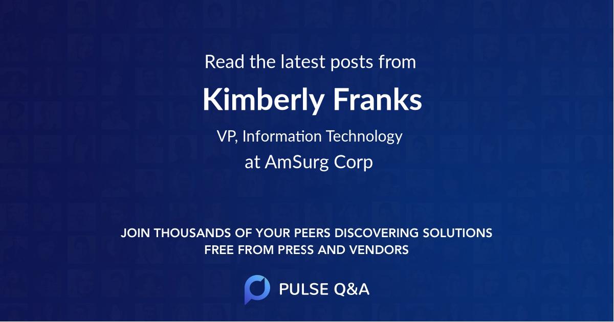 Kimberly Franks