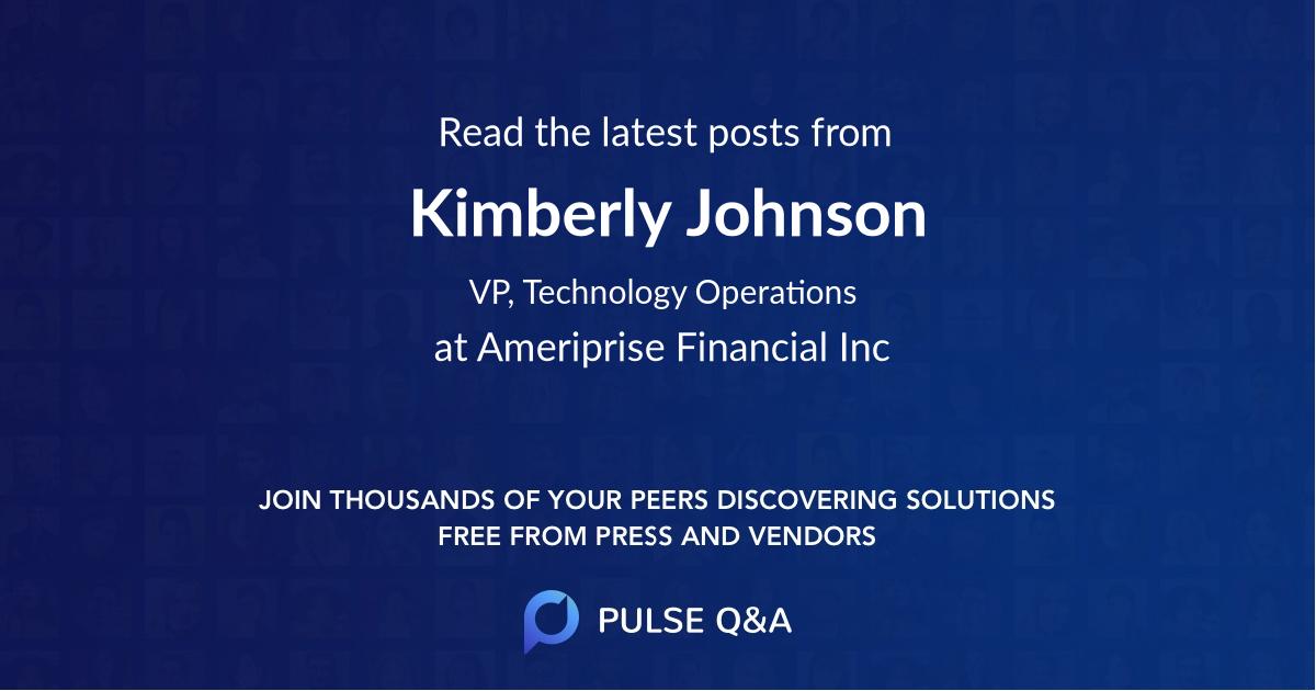 Kimberly Johnson