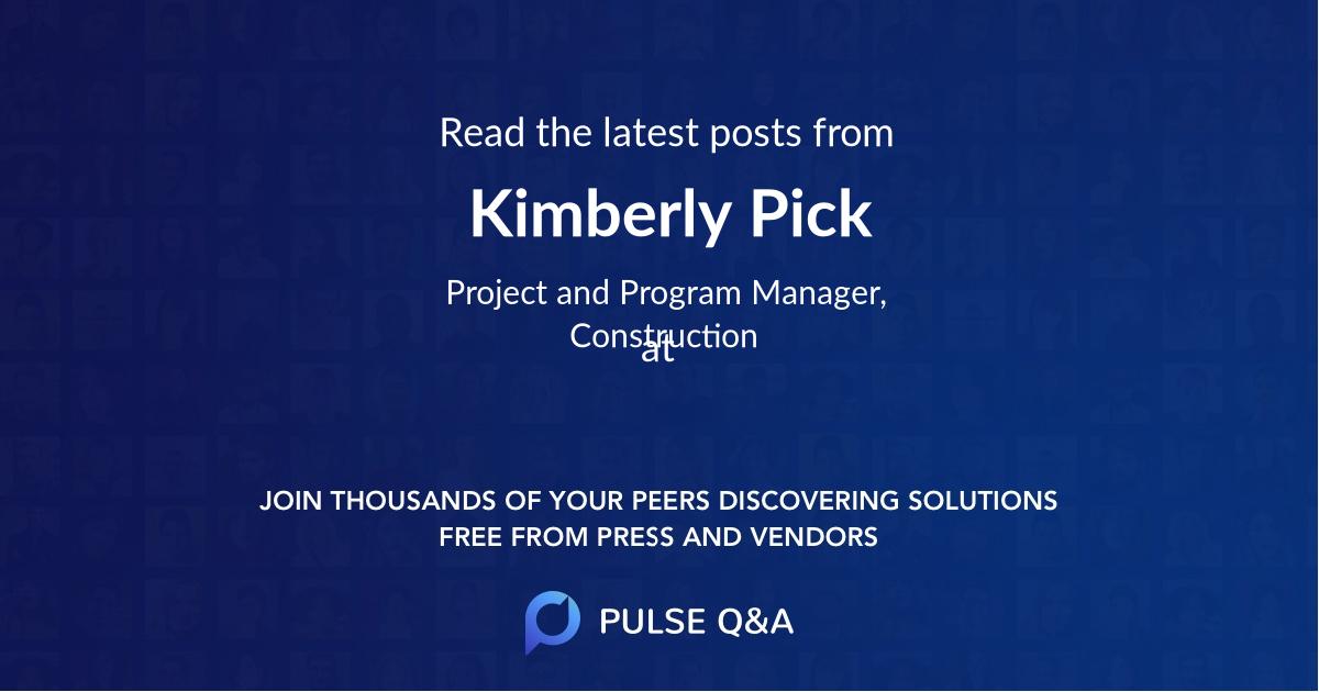 Kimberly Pick