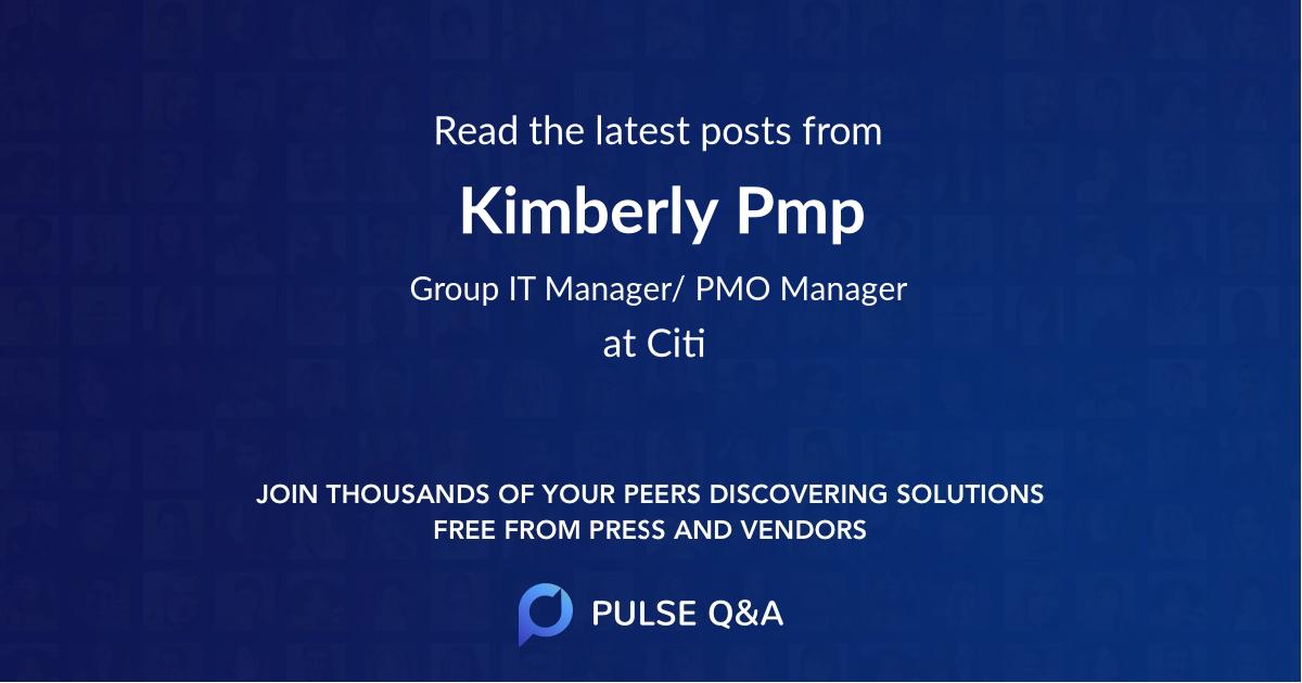 Kimberly Pmp