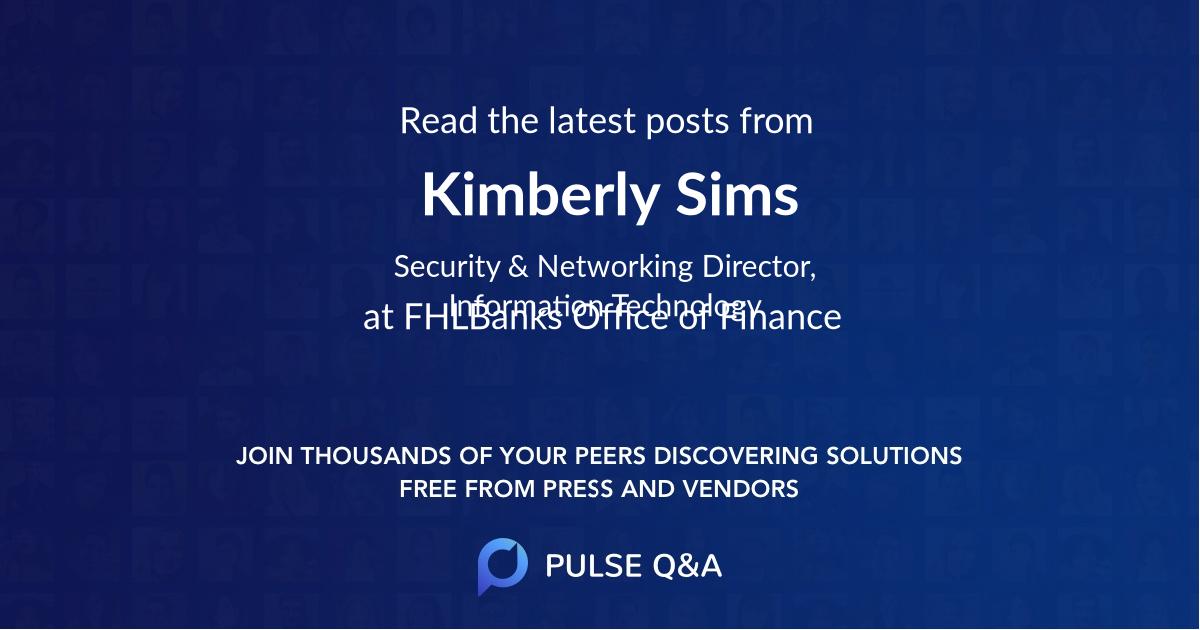 Kimberly Sims