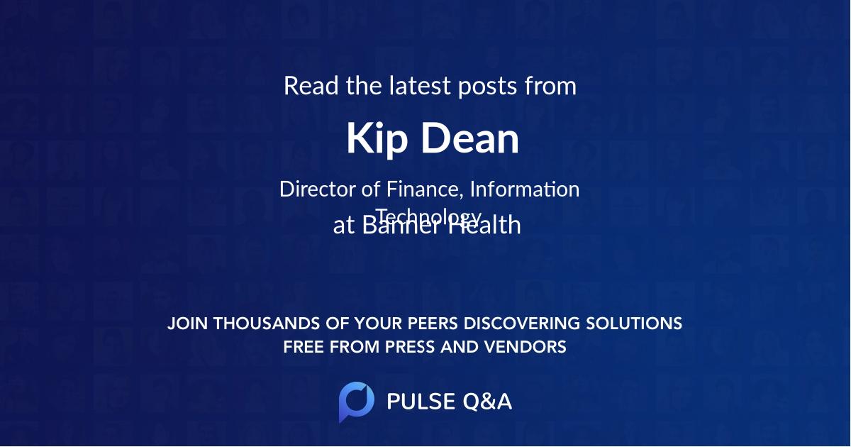 Kip Dean