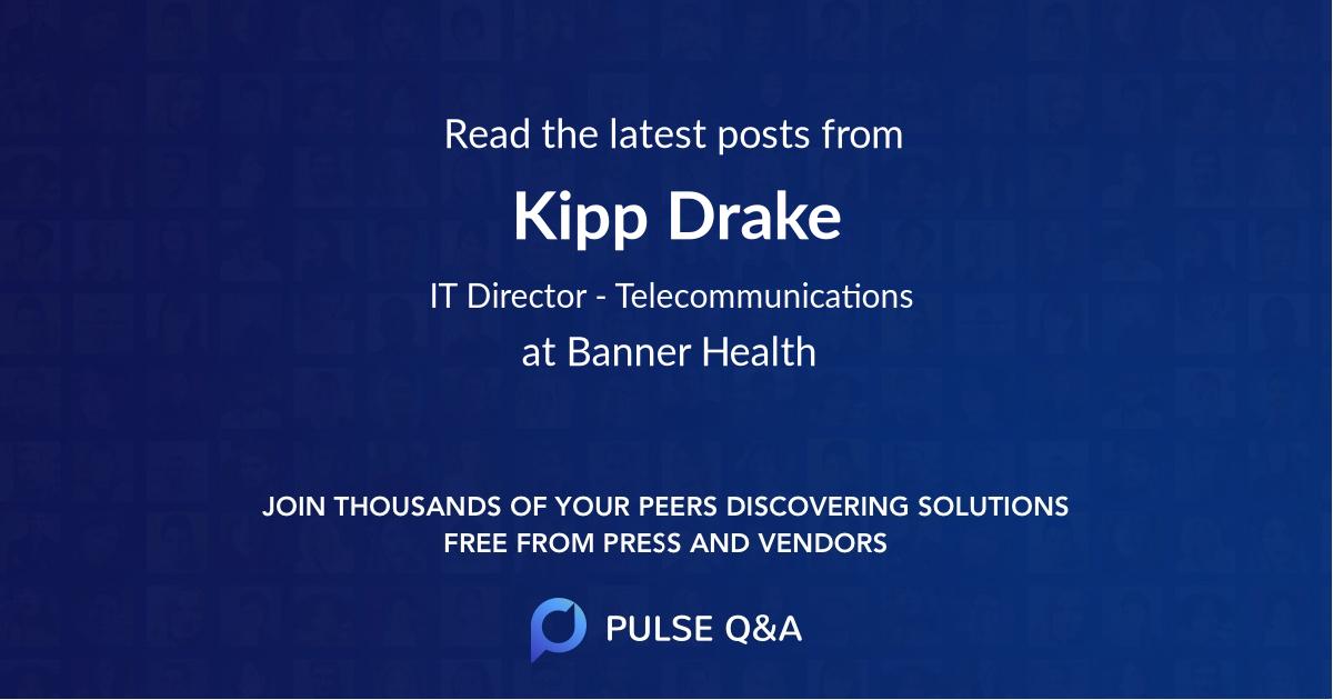 Kipp Drake