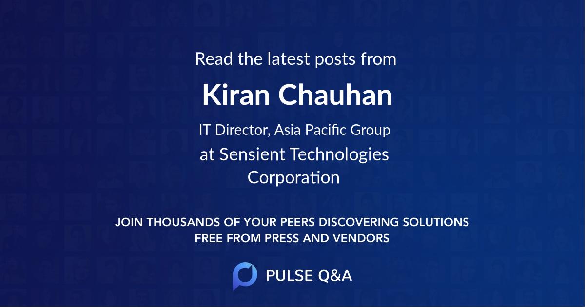 Kiran Chauhan