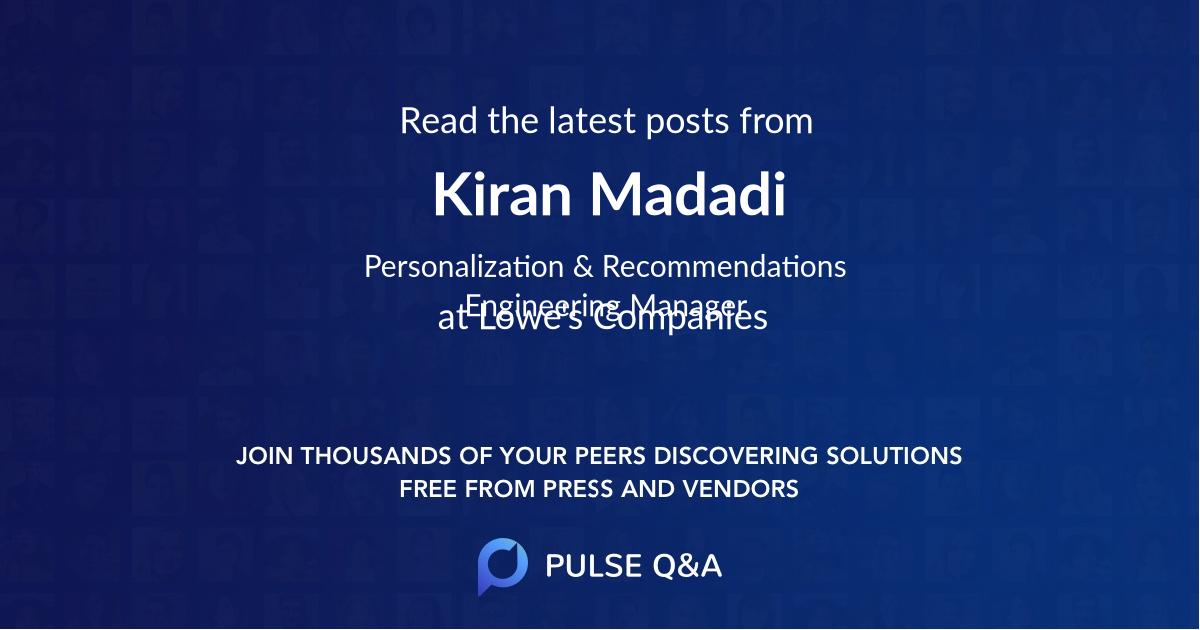 Kiran Madadi