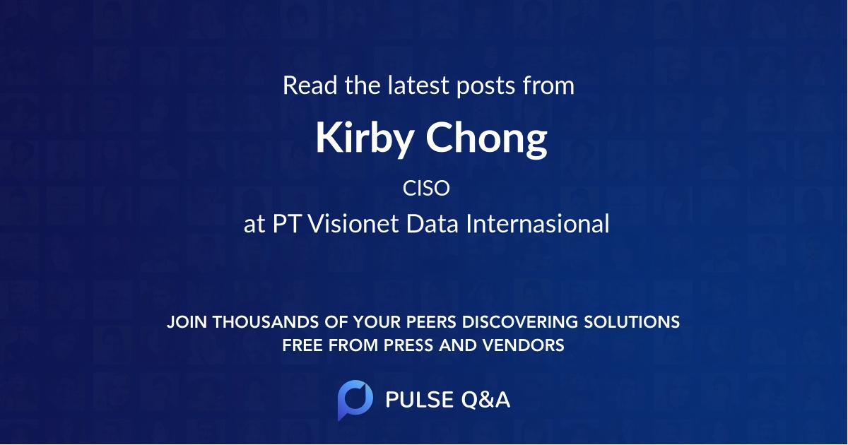 Kirby Chong