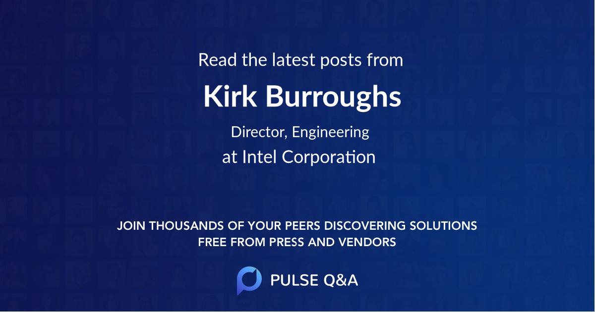 Kirk Burroughs