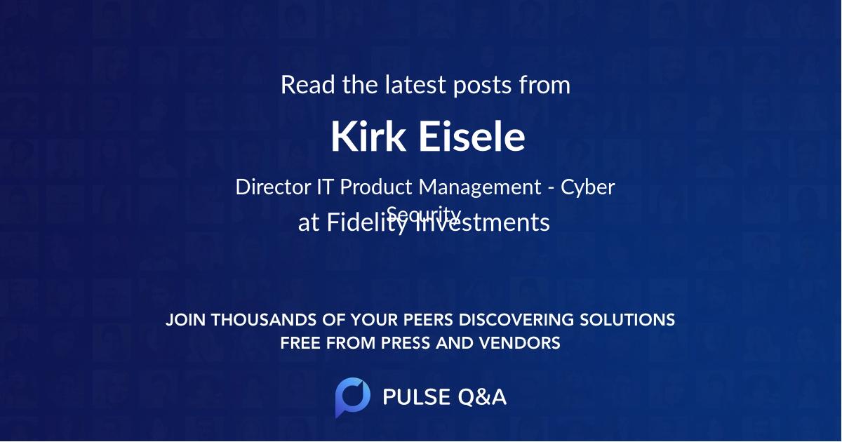 Kirk Eisele