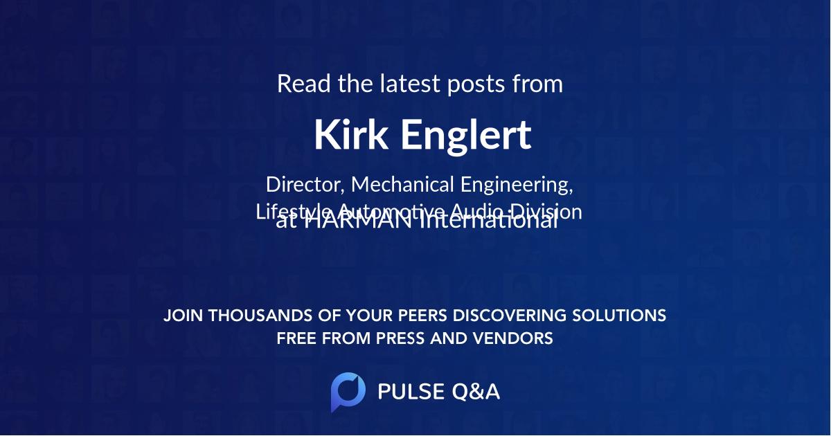 Kirk Englert