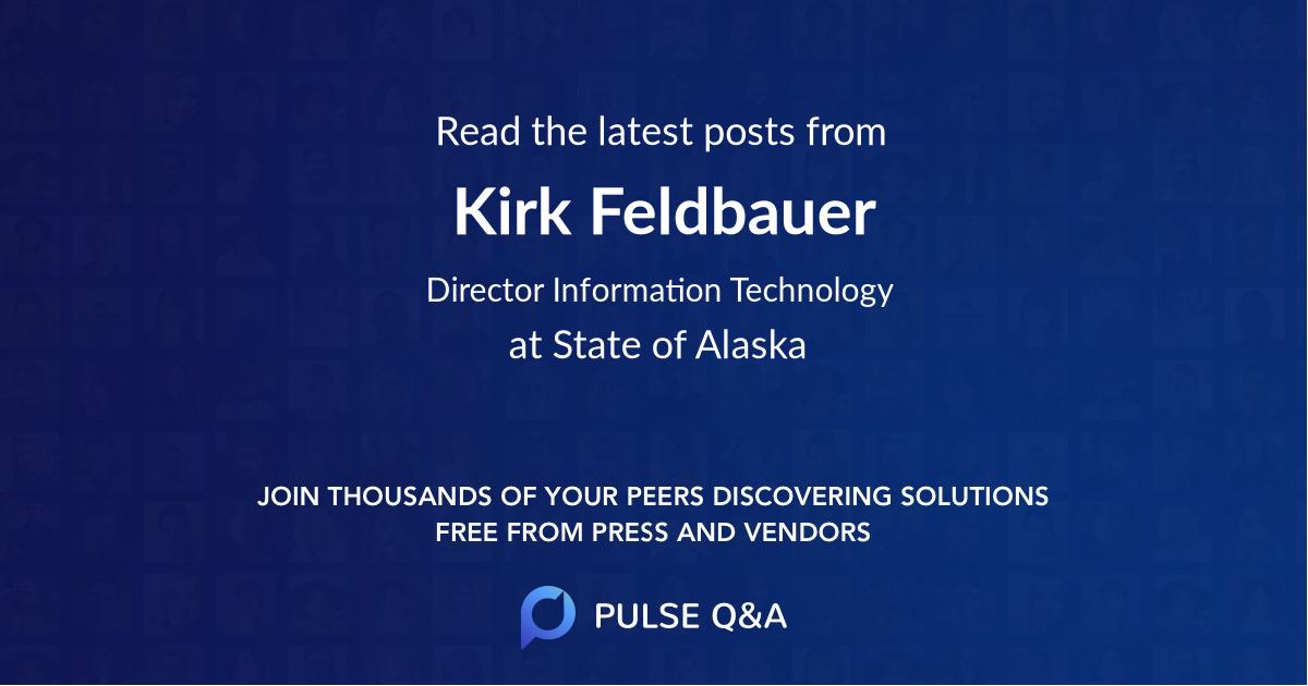 Kirk Feldbauer